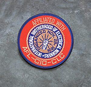"Logo Cloth Patch 3 1/2"""
