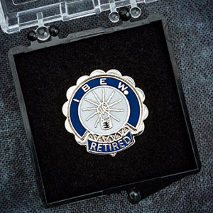 ** NEW ** Retirement Pin