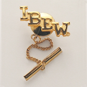IBEW Initials Tie Tack