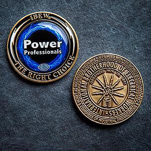 ** NEW ** IBEW Challenge Coin