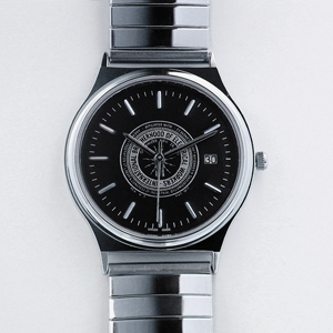 Logo Silver Watch w/date