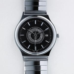 Logo Silver Watch w/date