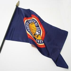 IBEW 18 Inch Flag