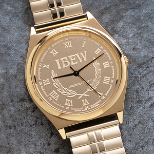 IBEW Initials Watch, Men's