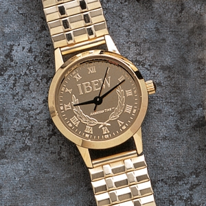 IBEW Initials Watch, Women's
