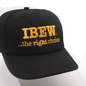 IBEW Right Choice Hat