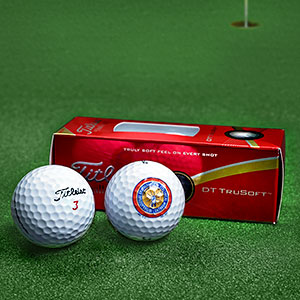 IBEW Titleist TruSoft Golf Balls